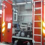 Črpalka Rosenbauer NH35 je bila na dan 9.5.2014 že na svojem mestu.