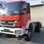 Prevzem podvozja Mercedes Axor (26.9.2014)
